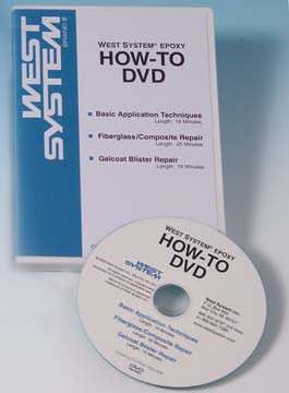002-898 West System West System Epoxy How-To Dvd West System How-To Dvd (while Qtys Last)
