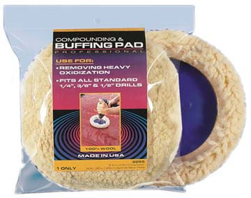 0055 S M Arnold Compounding/buffing Pad Buffing Pad (while Qtys Last)