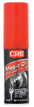 05130 Crc-Mary Kate Magic Oil Lock Lubricant and De-Icer .6 Oz Aerosol, Case Qty 4 Displays (while Qtys Last)