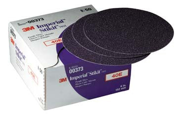 "00373 3m Marine 3m Imperial Stikit Discs 7401 & 7451 7401 40e, 6"""" Dia., Box of 50 (while Qtys Last)"