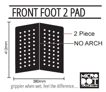 Pro-Lite front foot 2 traction specs
