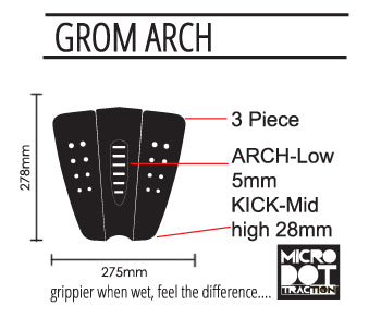 Pro-Lite grom arch traction specs