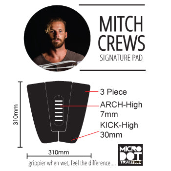 Pro-Lite Mitch Crews surf traction specs