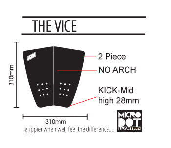 Pro-Lite Vice traction pad specs