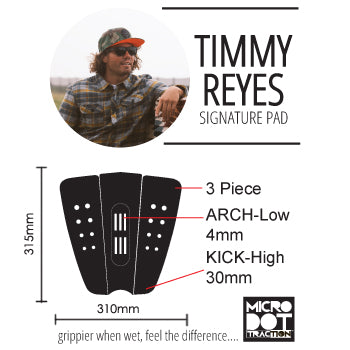 Timmy Reyes Surf traction pad specs