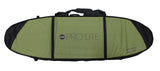 Pro-Lite finless coffin surfboard travel bag 2-3 boards-bottom view