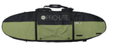 Pro-Lite finless coffin surfboard travel bag 3-4 boards-top view