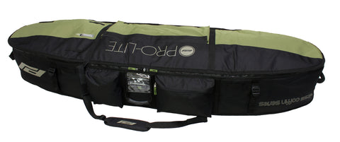 Pro-Lite finless coffin surfboard travel bag 3-4 boards