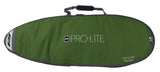 Pro-Lite Smuggler surfboard travel bag fish/hybrid style, bottom view