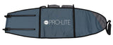 Pro-Lite wheeled coffin surfboard travel bag for 3-4 boards-bottom view