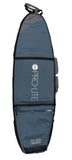 Pro-Lite deep wheeled coffin surfboard travel bag 4 to 7 boards-top view