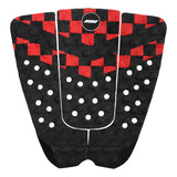 Balaram Stack signature surfboard traction pad-black/white