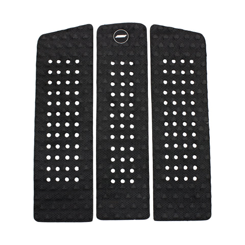 Pro-Lite front foot surfboard traction pad black-3 piece