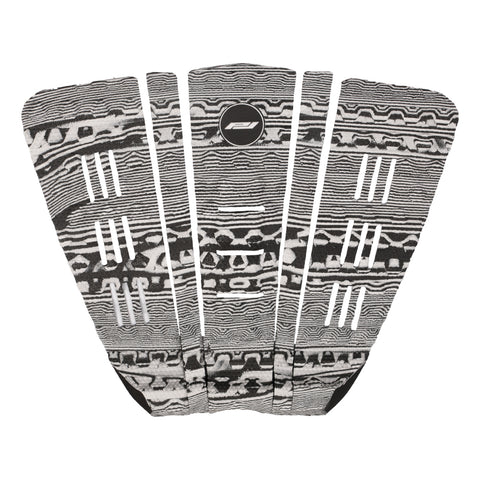 Josh Kerr surfboard traction pad-black/white marble