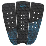 Keanu Asing surfboard traction pad-3 piece black and white