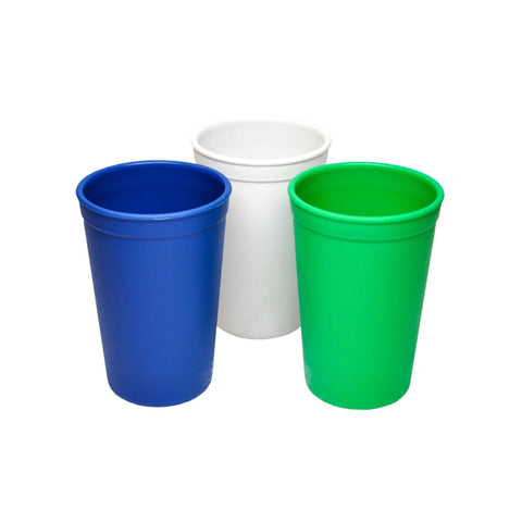 Replay Tumblers - 3 Pack | Kelly Green, White & Navy Blue - Lexi & Me