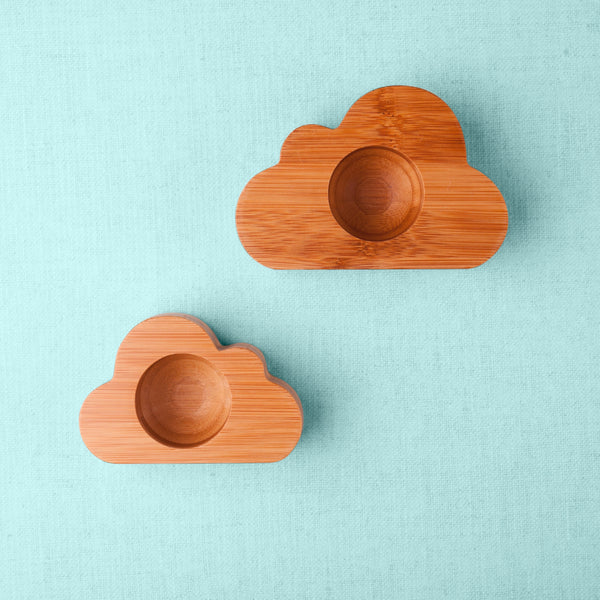 Emondo Kids Cloud Egg Cups | Set of 2