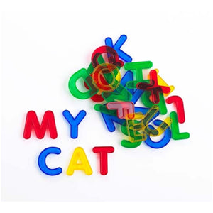 Transparent Letters 26 Piece Set