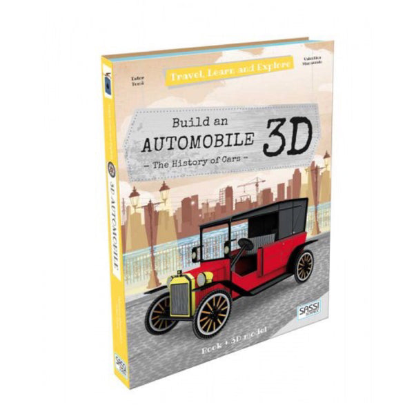 Travel, Learn and Explore | Build a 3D Automobile - Lexi & Me