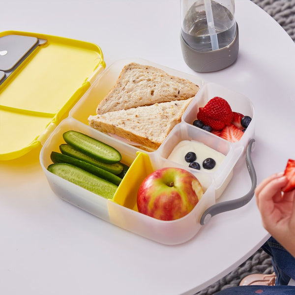 B.Box Whole Foods Bento Lunch Box | Lemon Sherbet - Lexi & Me