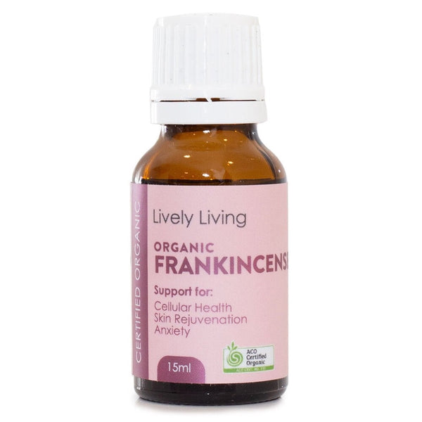 Lively Living Pure Essential Oil 15ml | Frankincense-Boswellia Serrata
