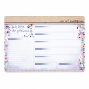 Me to You® Weekly Desk Planner