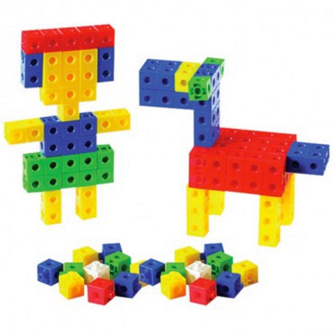 Linking Cubes 2cm | Jar of 100