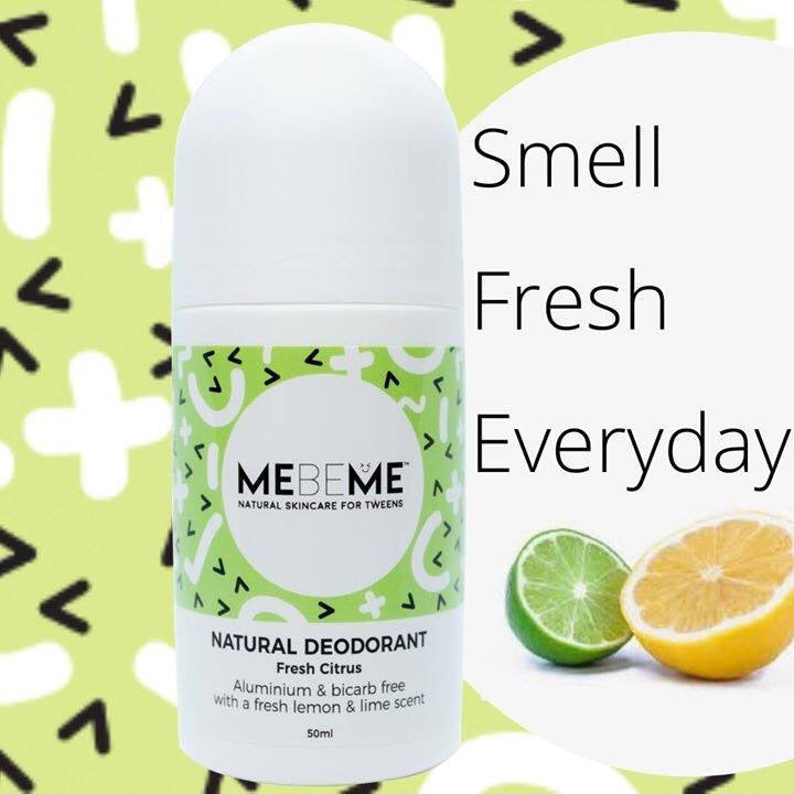 Natural Roll-On Deodorant 50ml | Citrus Fresh - Lexi & Me