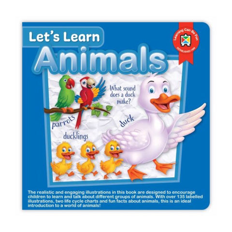 Board Book | Let's Learn Animals