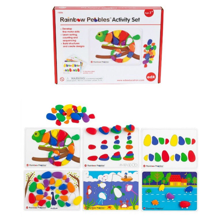 Rainbow Pebbles Activity Set - Lexi & Me