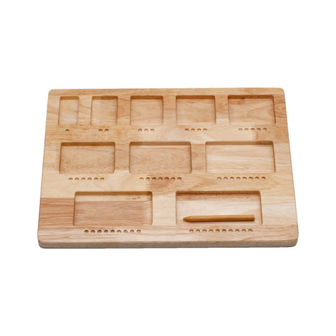 Qtoys Double-Sided Counting Board