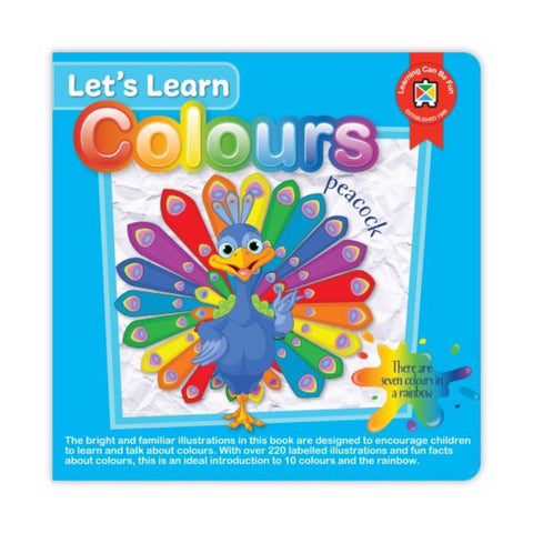 Board Book | Let's Learn Colours