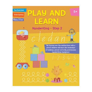 Play and Learn Exercises Book | Handwriting (5 years+) - Lexi & Me
