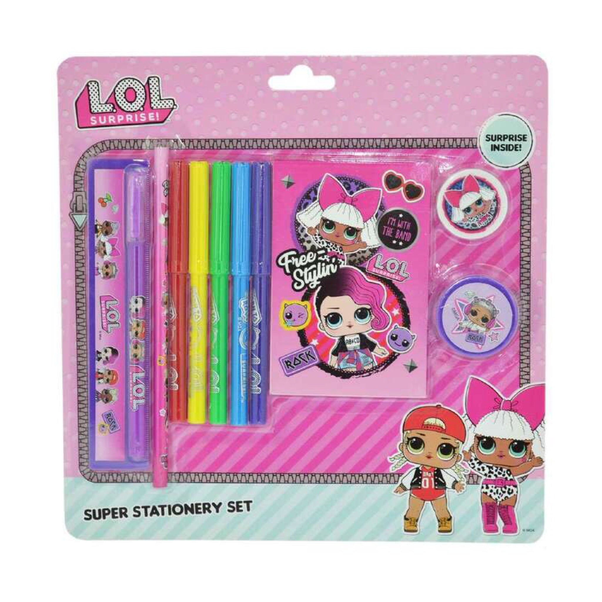 L.O.L Surprise Super Stationery Set