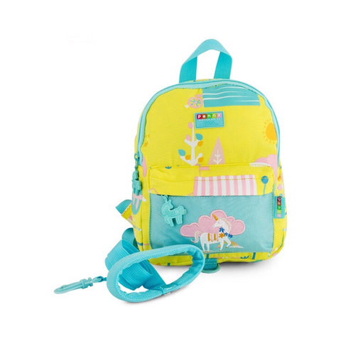 Penny Scallan Mini Backpack w/ Safety Strap | Unicorn - Lexi & Me