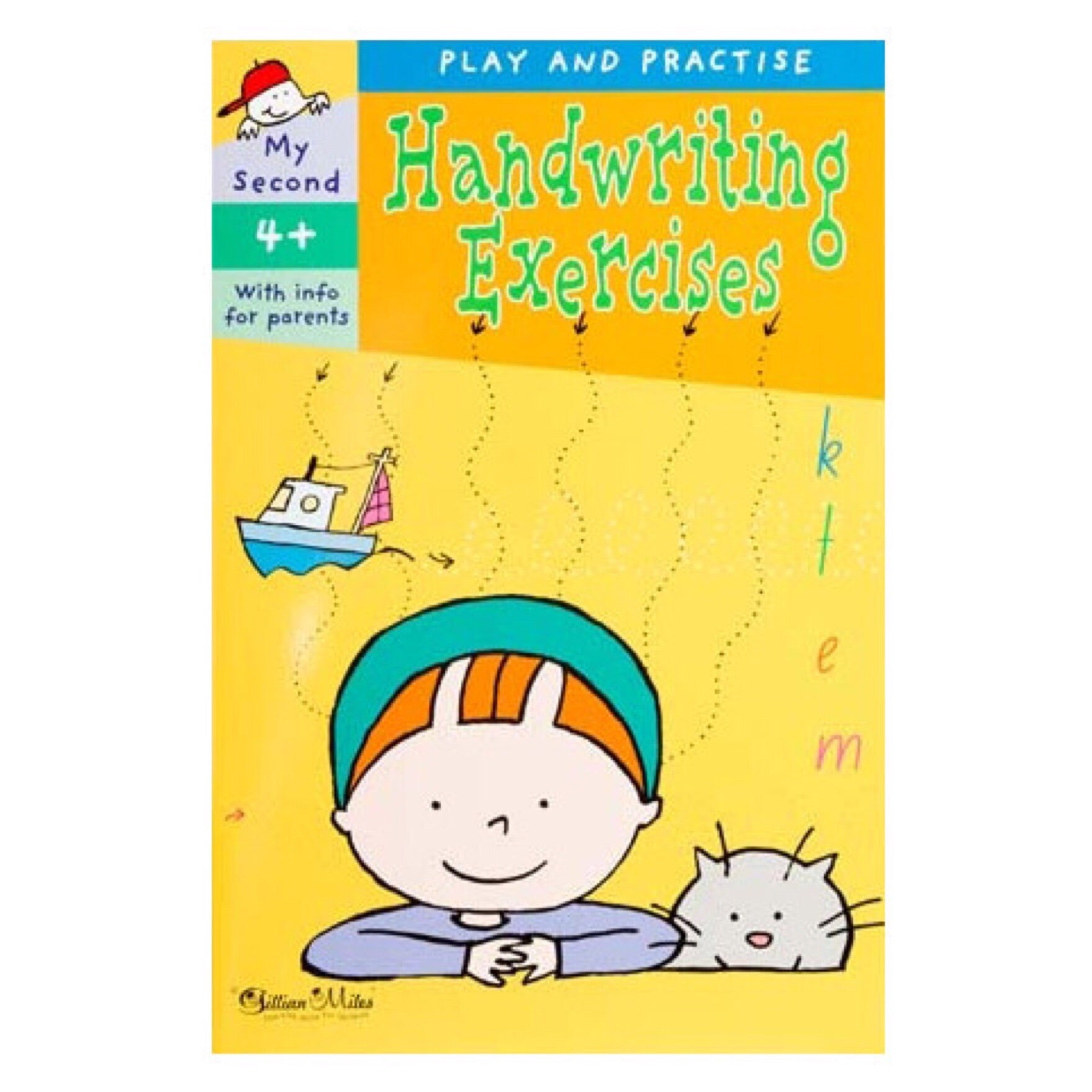 Play and Practice Exercises Book | Handwriting (4 years+) - Lexi & Me