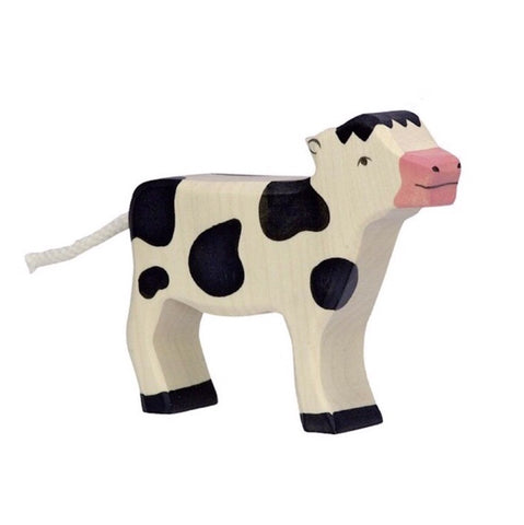 Holztiger Wooden Figurine | Cow - Lexi & Me