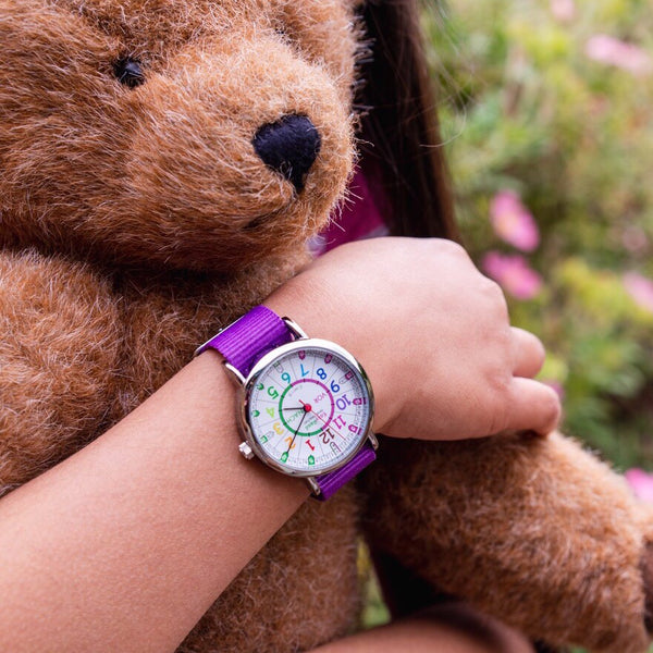 EasyRead Time Teacher Watch | Purple