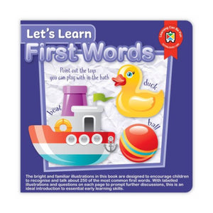 Board Book | Let's Learn First Words