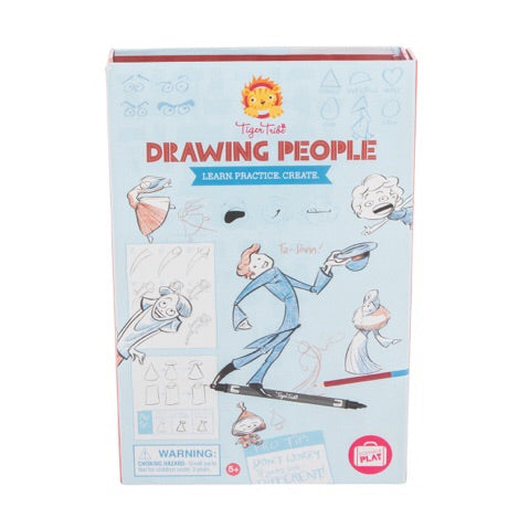 Tiger Tribe Drawing Set | How to Draw People - Lexi & Me