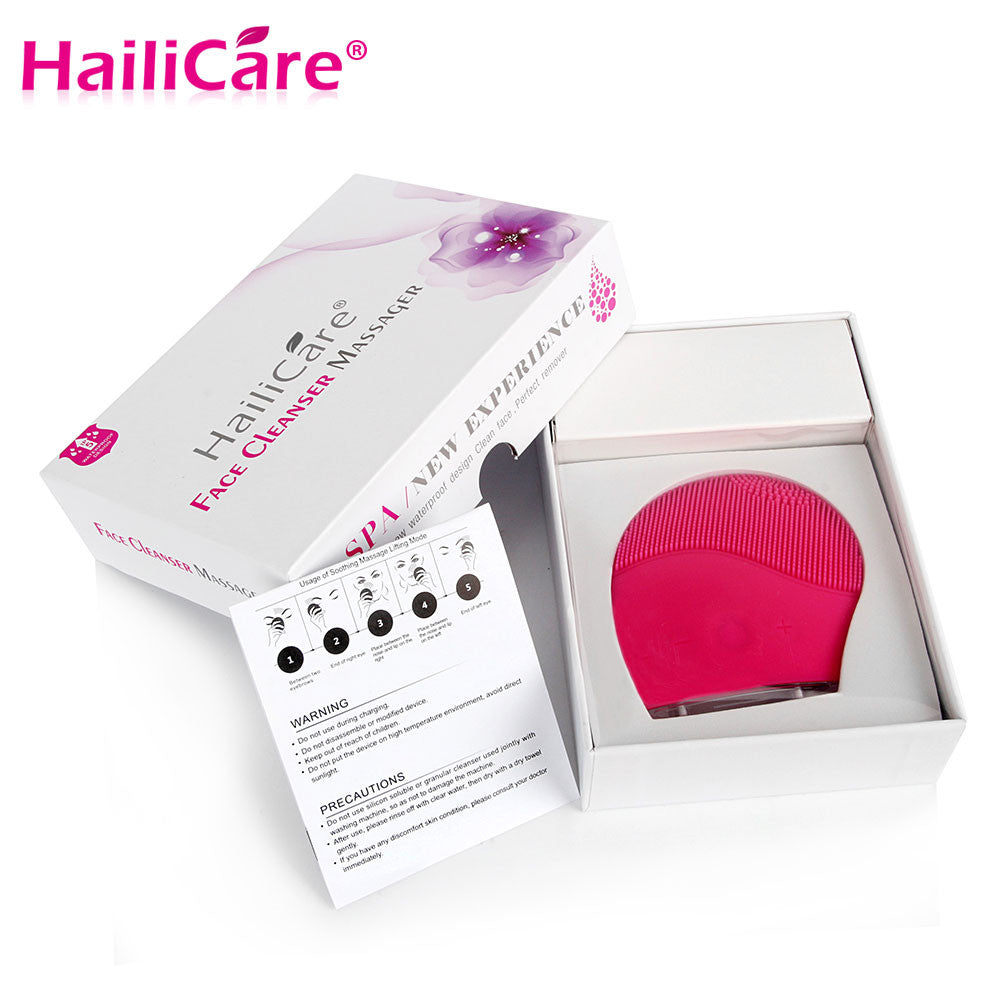 Hailicare Electric Vibrating Face Cleanser