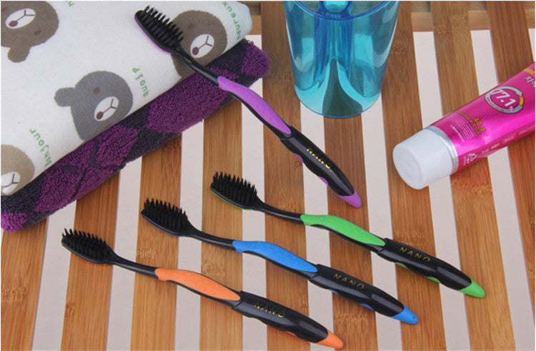 Charcoal Toothbrush (4 Pack)