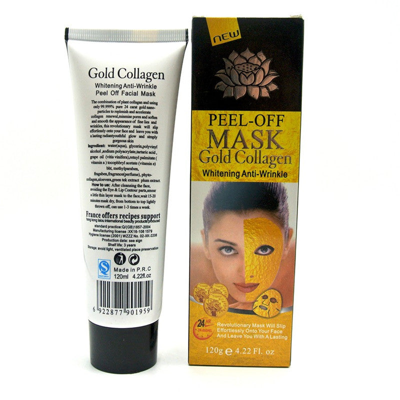 24K Gold Anti Wrinkle and Anti Aging Mask