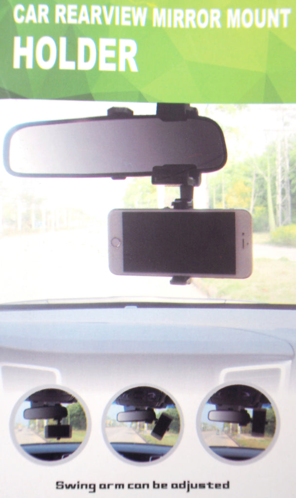 Car Rearview Mirror Mount Holder PE-H01 Black