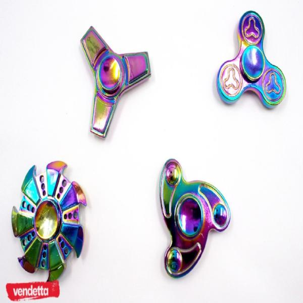 Vendetta Chrome Plated Fidget Spinner Series