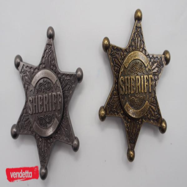 Vendetta Sheriff's Badge Fidget Spinner