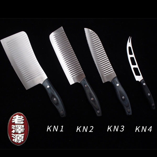 Chrome Vanadium Steel Kinmen Knife(Set Of 4)