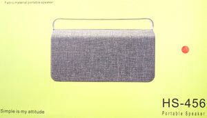 Vendetta Fabric Wireless Bluetooth Speaker HS-456