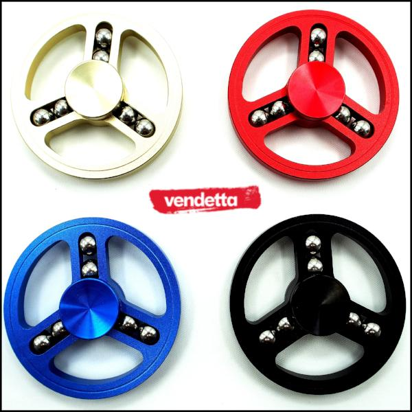 Vendetta 9 Sphered Flame Wheel Fidget Spinner
