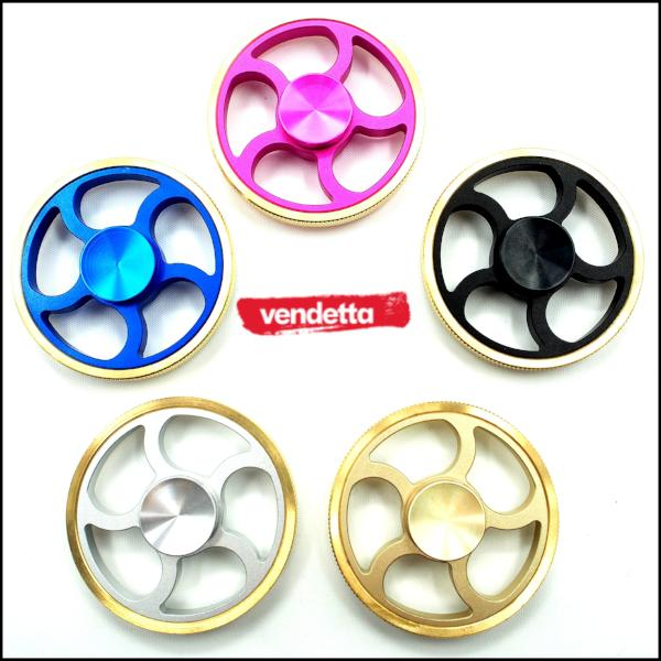 Vendetta Flame Wheelz Fidget Spinner